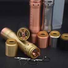 e cigarette Kennedy 25 Kit Mech Mod Kit 18650 Battery 26mm  diamater  brass red copper Vaporizer Mod VS sob mod Ruby Kit Vaper e cigarette mech mod kit built in 18650