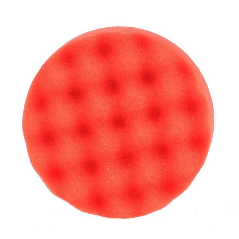 Vehemo 1 шт. полирующая пена автомобиля губка для полировки Pad комплект полировщик буфера для губки Губка для полировки прочный чистящие средства авто - Цвет: red