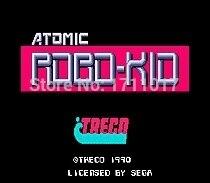Atomic Robo 16 bit MD Game Card For Sega Mega Drive For Genesis