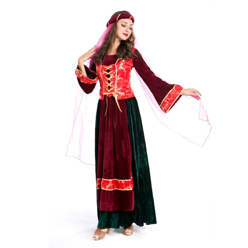 Persian Queen Costume Game Uniform Film and Television Movie Cosplay Costume Halloween Cosplay Costume