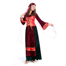 Persian Queen Costume Game Uniform Film and Television Movie Cosplay Halloween