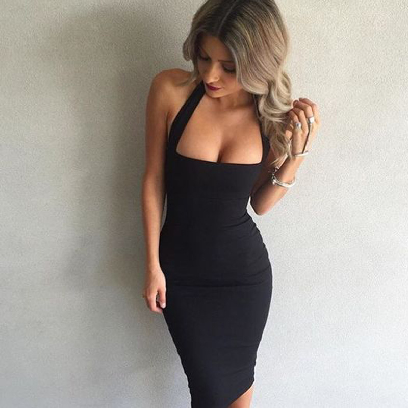 ZSIIBO Summer Bandage Dress Women Vestidos 2019 New Sexy Bodycon Celebrity Evening Party Dresses Elegant Halter ZSIIBO Summer Bandage Dress Women Vestidos 2019 New Sexy Bodycon Celebrity Evening Party Dresses Elegant Halter Midi Club Dress