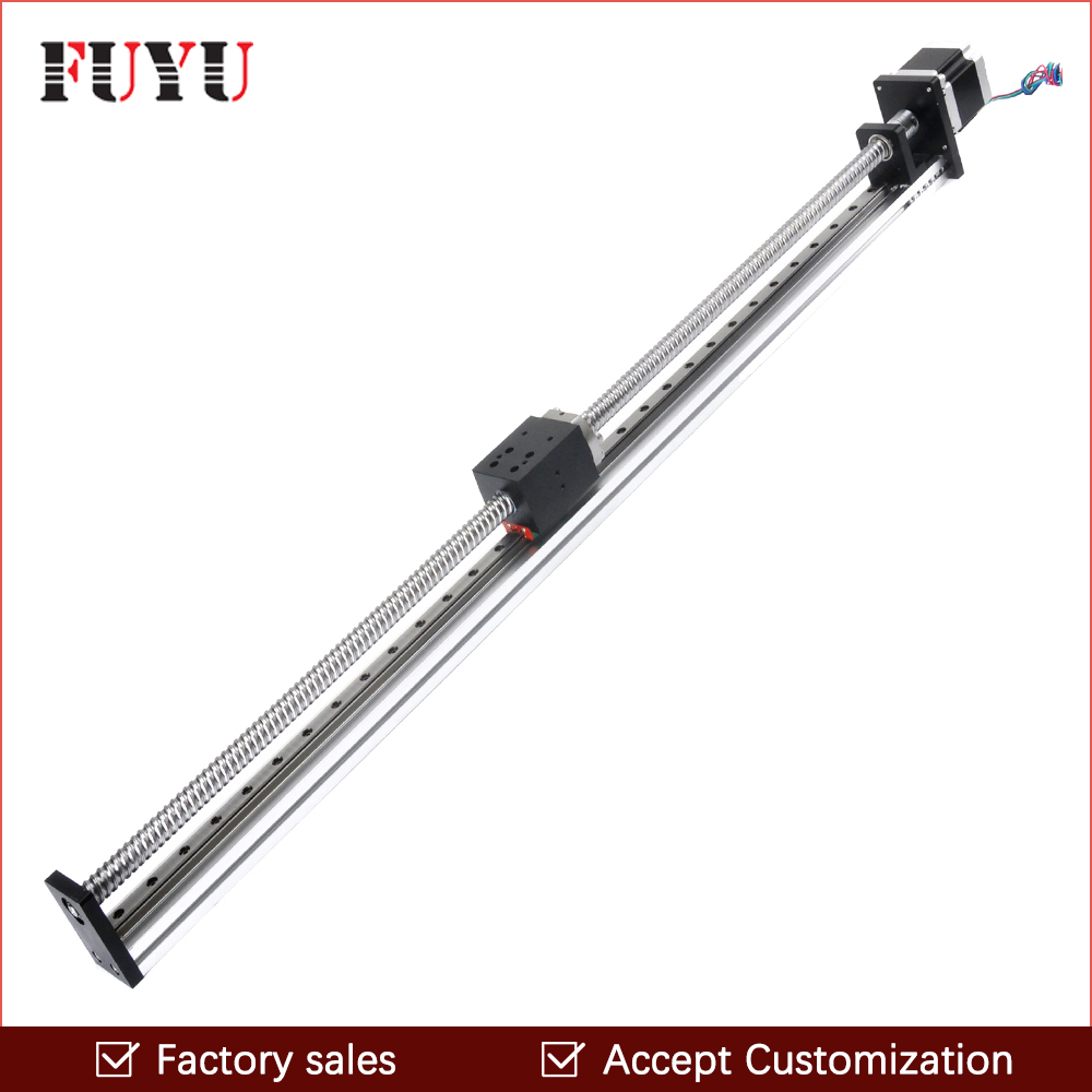 900mm Linear Guide CNC Slide Stage Actuator Table Router Rail with Motor For Engraving Position System900mm Linear Guide CNC Slide Stage Actuator Table Router Rail with Motor For Engraving Position System