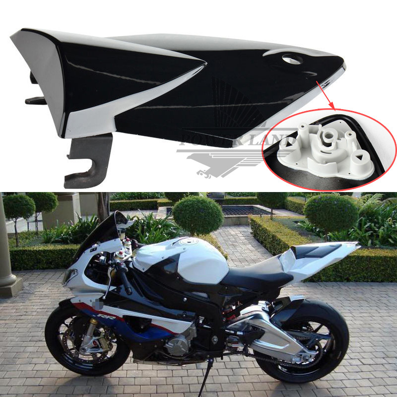 Free Shipping Brand New Motorcycle Rear Seat Cover Cowl Fit BMW S1000RR 2009-2013 10 11 12 Black Plastic for ktm 390 duke motorcycle leather pillon passenger rear seat black color