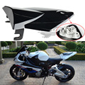 Free Shipping Brand New Motorcycle Rear Seat Cover Cowl Fit BMW S1000RR 2009-2013 10 11 12 Black Plastic