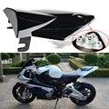 Motocicleta traseira tampa de assento capuz Fit BMW S1000RR 2009 - 10 11 12 plástico preto