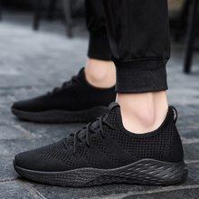 05c525202 Homens Das Sapatilhas sapatos Masculinos Sapatos respirável Adulto Preto  Vermelho Cinza de Alta Qualidade Confortáveis Não