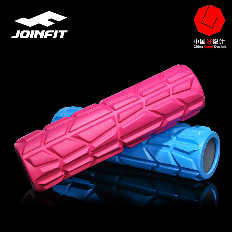 JOINFIT High Hardness Yoga Massage Foam Roller For Back Muscles Pilates Exercise Fitness Floating Point EVA Foam Roller Physio спортивные товары joinfit kettelbell rackjf