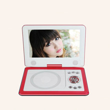9.8 inch Multifunction Portable Home DVD Player HD TV Support USB Port,SD Card Play And Swivel High-Definition Screen electronic
