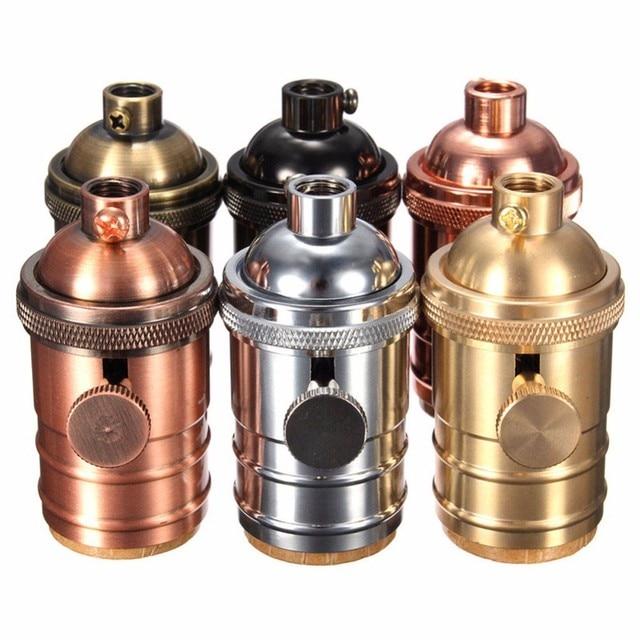Armaturen industrie  Hohe Qualität Vintage Edison Lampenfassung E27 Schraube Glühbirne ...