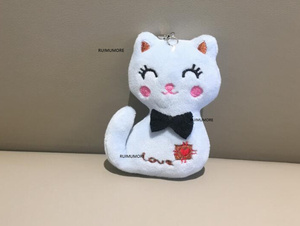 Sitting 7CM Cat Plush Stuffed TOY DOLL NEW Key chain Gift Plush Dolls(China)