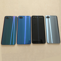 100% Original GLASS For Huawei honor 10 Back Battery Cover Rear Door Housing Case Glass Panel Replacement+camera lens + Adhesive