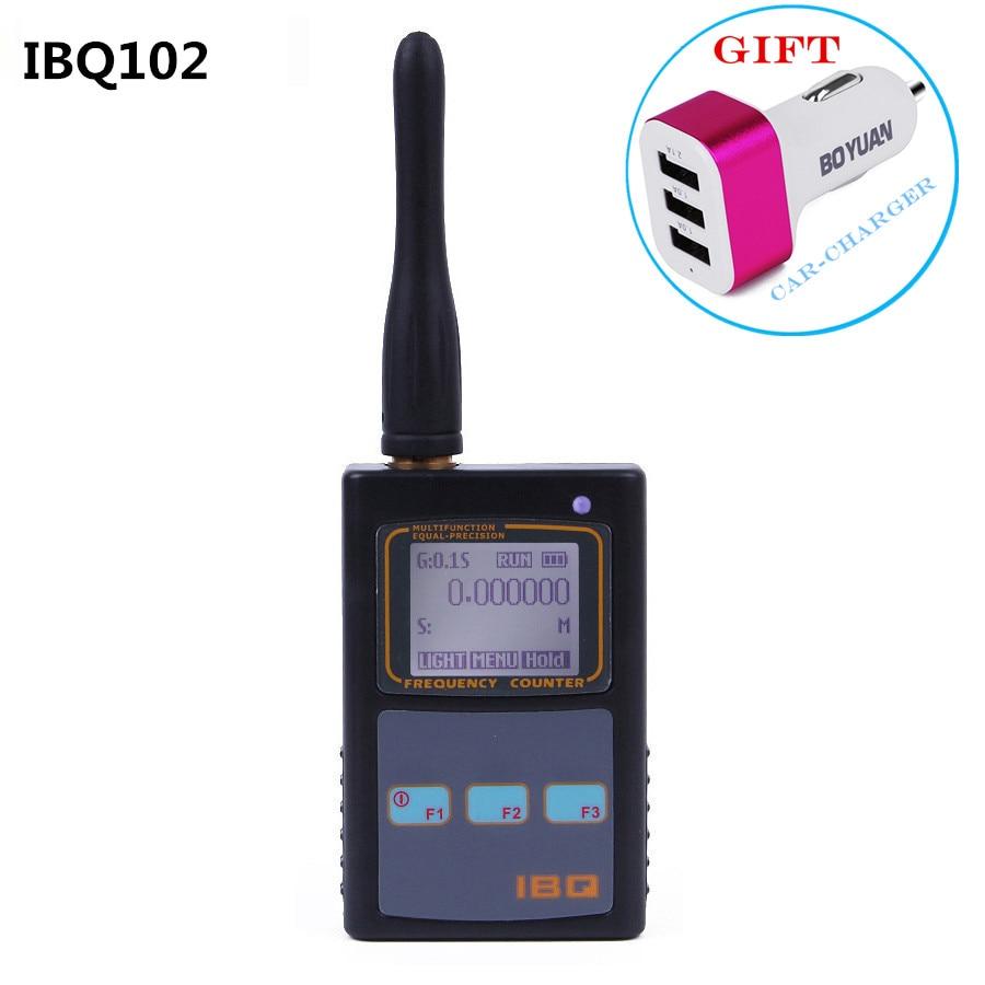 bilder für Frequenzzähler RF Meter IBQ102 Breite Palette 10Hz-2,6 GHz für Baofeng Yaesu Kenwood Radio Tragbaren Handheld Multifunktions zähler