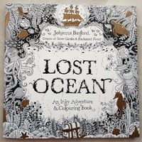 88 Pages Secret Garden Serie LOST OCEAN Adult Coloring Colouring Books For Relieve Stress Kill Time
