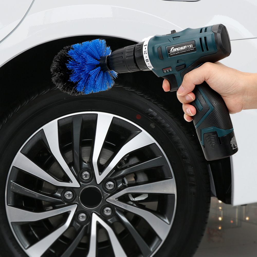 Bright Car Tire Rim Brush Sponge Washing Cleaner Plastic Long Handle Wheel Brush Vehicle Washing Tool Soft Bristles Clean Wheel Tire Back To Search Resultsautomobiles & Motorcycles