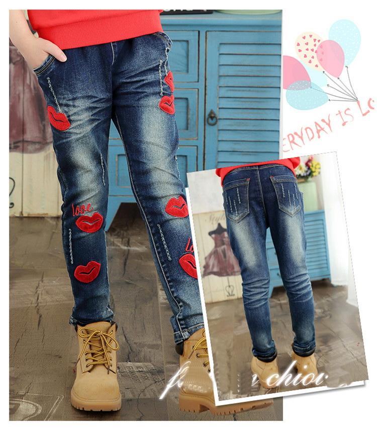 Popular Red Jeans Girls-Buy Cheap Red Jeans Girls lots from China ...