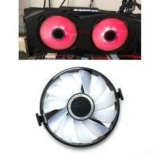 ใหม่ FDC10U12S9 C PC Cooler พัดลมเปลี่ยนสำหรับ XFX AMD Radeon R7 370 RX 470 480 570 580 RX460 RX 460 กราฟิกการ์ด GPU Cooling พัดลม