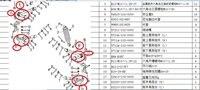 1 set avant Droit et gauche supérieure et inférieure culbuteur et 4 pcs rotule de HISUN350 la pièces point avec rouge cline