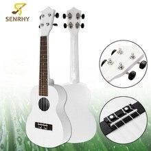 23 Inch Acoustic Ukulele Black Guitarra Guitar Basswood 4 Strings Ukelele Black Musical Instruments For Music Lover or Beginner