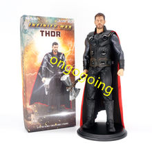 "Brinquedos 1/6 Marvel Avengers Thor 3 Empiredal 12 ""com Axe PVC Action Figure Modelo com Caixa Original(China)"