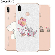 DREAMFOX M293 Super Elephant Rabbit Soft TPU Silicone Case Cover For Huawei Honor 6A 6C 6X 7A 7C 7S 7X 8 Lite Pro