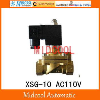 "Normally closed XSG-10 AC110V G 3/8"" two-way two-position high-pressure diaphragm solenoid valve"