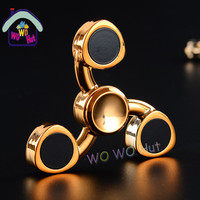 Tri Spinner Fidget Toys EDC Hand Spinner Metal Fidget Spinner For Autism And ADHD Adults Children