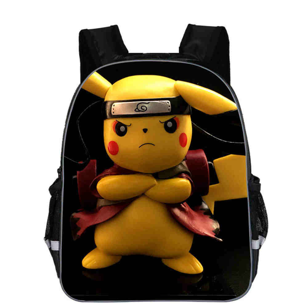 11/13/16 Inch Hot Sale Children School Bookbags For Boys Girls Pokemon Print Backpack For Kids Students Travel Bags