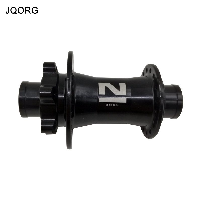 JQORG Bicycle Hubs 20mm Axle Diameter Front Wheel Drive Mountain Bike Hubs 32 Holes NOVATEC DH61SB-HL Cycling Clambing Bike Hubs original novatec d881sb d882sb mtb downhill mountain bike hubs 4in1 15 12 142 thru 32 holes disc brake bicycle hub for am fr dh