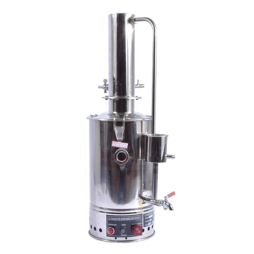 1pc YAZD 5 Electric 5L Water Distiller 304 Distilled Stainless Steel Water Equipment With Auto Shutoff System 220V