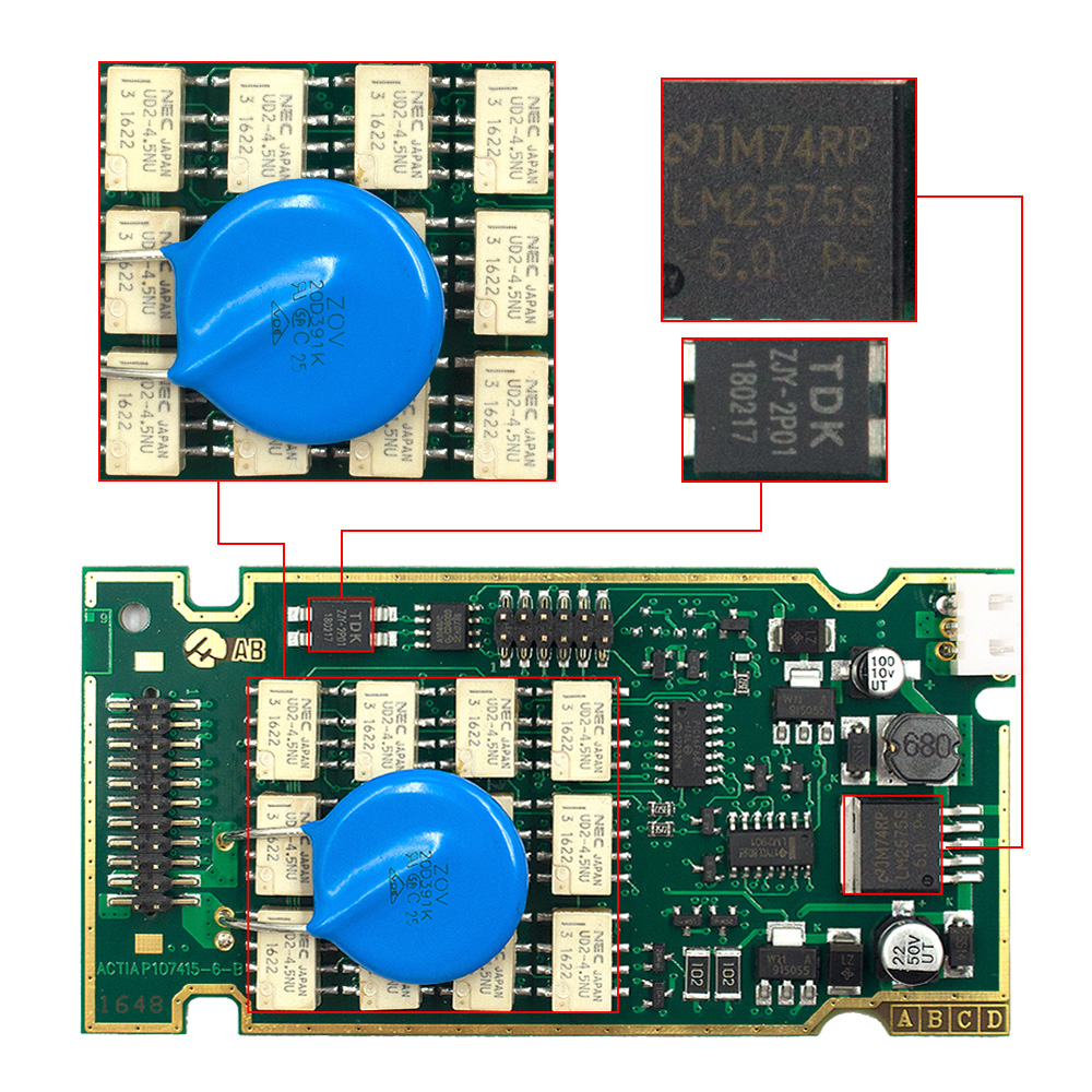 Goldene Lexia 3 Volle Chip Lexia3 Diagbox V 7,83 PP2000 V48/V25 Lexia-3 Firmware 921815C Für Peugeot/Citroen auto Diagnose Werkzeug