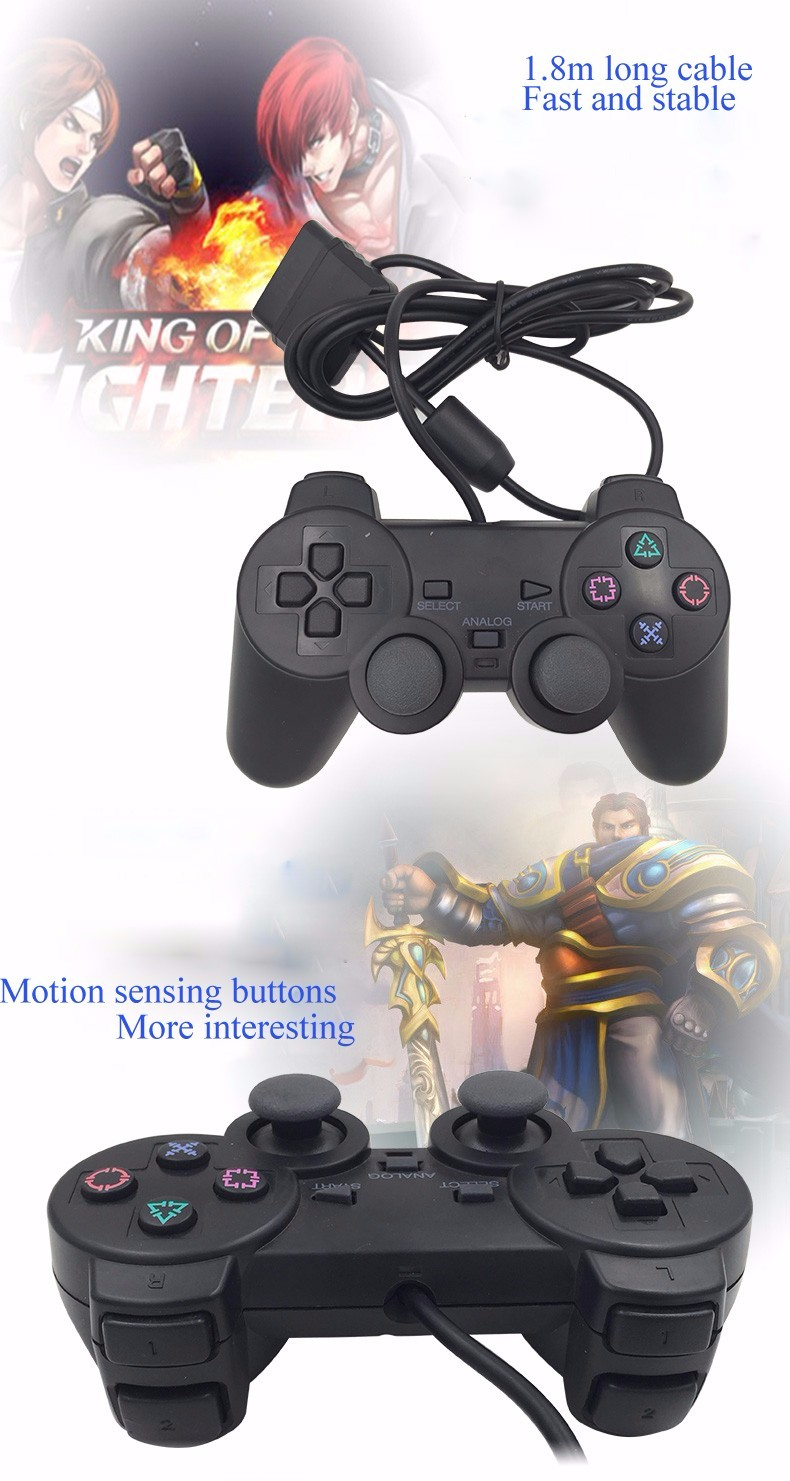 Wired Game Controller voor Sony PS2 Playstation 2 Joypad Pad wired ...