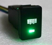 LED LIGHT BAR Push Button Car ON OFF Switch 12 Volt 3 Amp DIY Green LED Switch For Toyota RAV4 Prado Landcruiser  Hilux