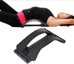 Massage-Equipment Patio Stretcher Spine Chiropractic Back-Massager Lumbar-Support Relax