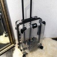 Удобный случай вагонетки, супер вешалка Чемодан мешок, колеса путешествия прокатки чашку, 20 24 дюймов 100% Алюминиевый винт
