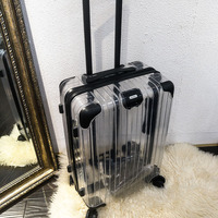 Удобный чехол на колесиках, супер вешалка для багажа, колёса для путешествий, 20 24 дюймов 100% Алюминиевый винт
