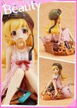 Japan Sexy Figure Anime Monogatari Nisemonogatari Oshino Shinobu Painted PVC Action Figure Collection Model Toy 20CM