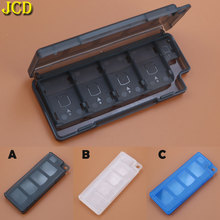 JCD 8 trong 1 Xách Tay Thẻ Trò Chơi dành cho Nintend Switch NS Thẻ Trò Chơi cho Công Tắc Chống Sốc Cứng Lưu Trữ hộp