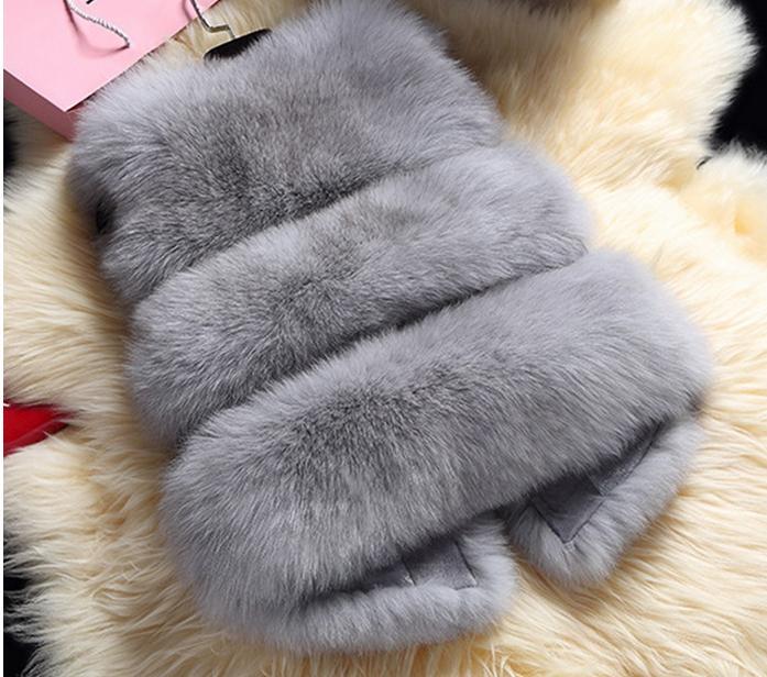 Women   basic     jacket   High Imitation Faux Fur coat Coats Winter Warm Thick Women   Jacket   Short Pattern Solid   Jackets   coat Fur 10570