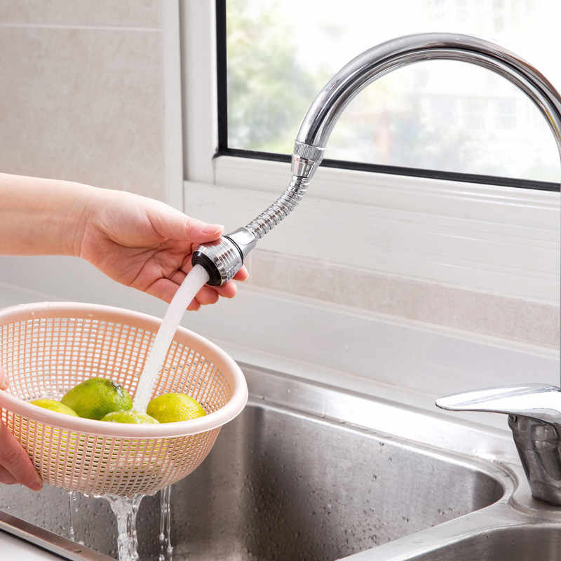 調整可能な 360 回転蛇口エクステンダー浴室キッチンバブラー防滴バルブ減圧水噴出水セーバー