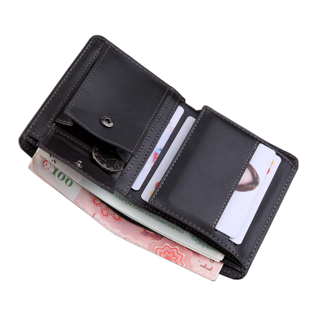 PU Leather Short card Purse