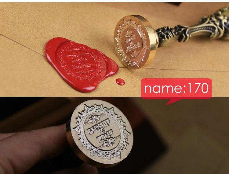 Customize Stamp Wedding Logo League DIY wedding prop Seal Personalized Wax To Custom Design