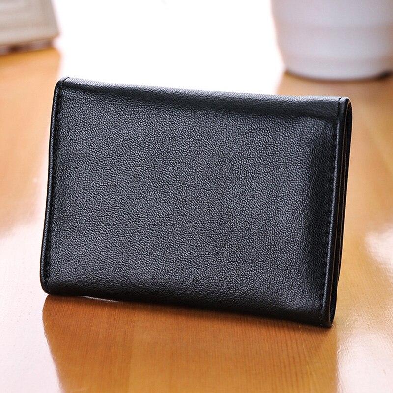 91cf61587 3 dobra Carteira de Couro PU Meninos Meninas Bonitos Bolsas Zipper Carteiras  de Multi Função de Titulares de Cartão de Estilo Coreano Sacos de Dinheiro  em ...