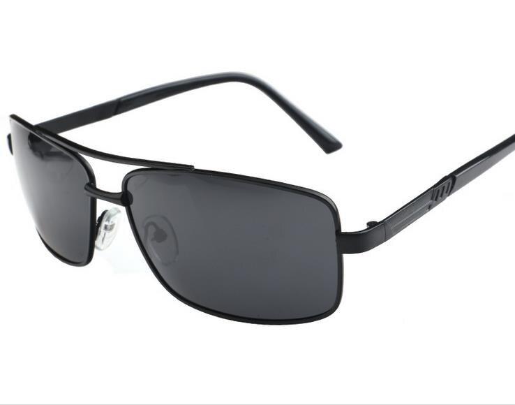c398301fe625dc Le new Hommes de lunettes de soleil En Métal de mode polarisées lunettes  Classique pilote uv protection lunettes de soleil