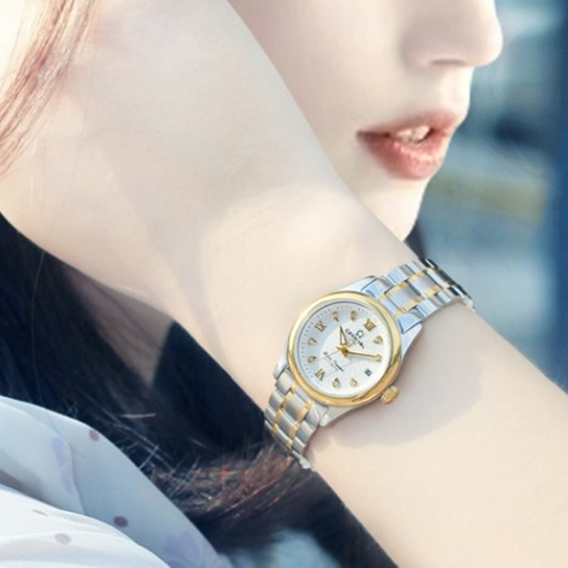 Carnival Women Watches top Luxury Brand ladies Automatic Mechanical Watch Women Sapphire Waterproof relogio feminino reloj