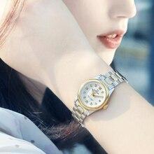 カーニバル女性の腕時計トップの高級ブランド自動機械式時計サファイア防水レロジオfemininoリロイmujer