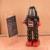 Clásico Negro Grande Robot Clockwork Toy Vintage Estaño Hojalata Terminan Juguetes Para Niños Hechos A Mano de Artesanía