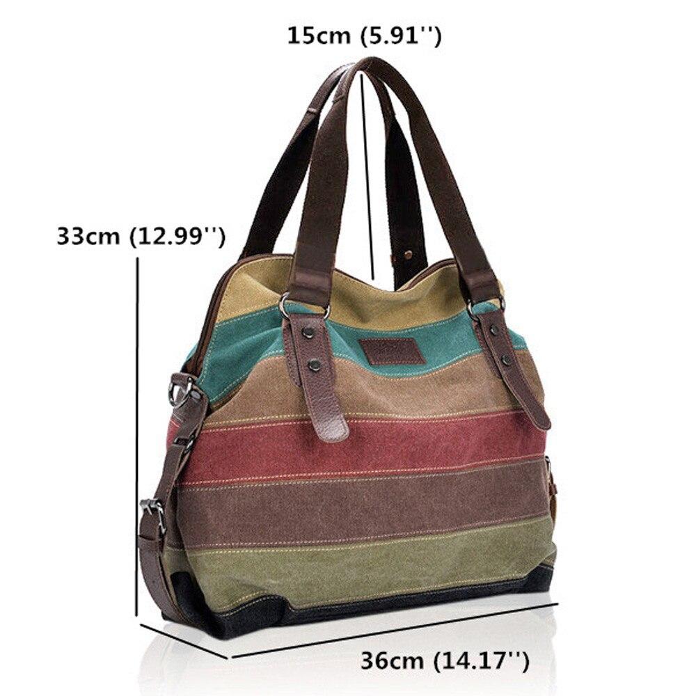 Canvas  Large Capacity Shoulder Bags For Designer Handbags Female  Tote Bag Bolsa Feminina