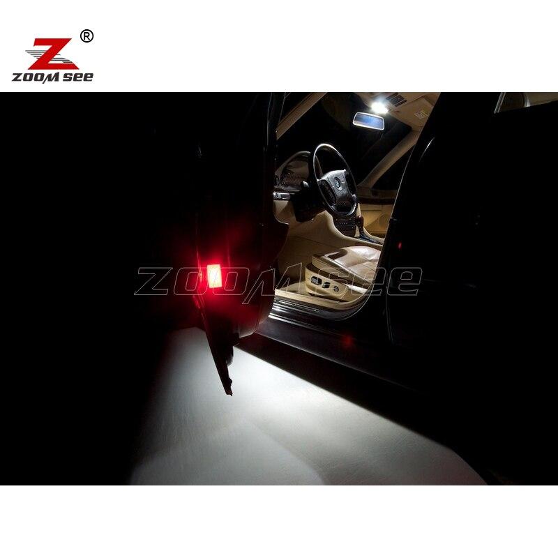 19 шт светодиодный интерьер чтение купол Карта лампочка комплект для bmw 7 серии E38 седан 725tds 728i 728iL 728i X(1994-2001