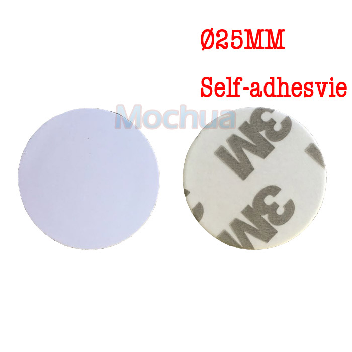 100pcst NTAG215 NFC Round Tag NFC Forum Type 2 Tag ISO/IEC 14443 A For All NFC Mobile Phone
